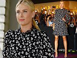 SINGAPORE - OCTOBER 23:   Maria Sharapova of Russia attends the Official Draw Ceremony prior to the BNP Paribas WTA Finals at The Shoppes at Marina Bay Sands on October 23, 2015 in Singapore.  (Photo by Clive Brunskill/Getty Images)