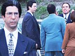 Picture Shows: David Schwimmer, John Travolta, Sterling K. Brown, Nathan Lane  October 13, 2015\n \n **MINIMUM WEB FEE £200**\n \n Stars filming a scene for the OJ Simpson episode on 'American Crime Story' in Los Angeles, California. \n \n \n **MINIMUM WEB FEE £200**\n \n Exclusive ALL ROUND\n UK Rights Only\n \n Pictures by : FameFlynet UK © 2015\n Tel : +44 (0)20 3551 5049\n Email : info@fameflynet.uk.com