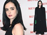 MILAN, ITALY - OCTOBER 22:  Krysten Ritter attends a red carpet for the Netflix launch at Palazzo Del Ghiaccio on October 22, 2015 in Milan, Italy.  (Photo by Jacopo Raule/Getty Images)