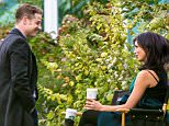 EXCLUSIVE: Benjamin McKenzie and pregnant Morena Baccarin are spotted together on set of 'Gotham' at Brooklyn Botanic Garden for the first time since the news about Morena's pregnancy and her relationship with Ben broke earlier this month.  Pictured: Ben McKenzie, Morena Baccarin Ref: SPL1157882  231015   EXCLUSIVE Picture by: Allan Bregg / SPLASH NEWS  Splash News and Pictures Los Angeles: 310-821-2666 New York: 212-619-2666 London: 870-934-2666 photodesk@splashnews.com