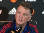 MANCHESTER, ENGLAND - OCTOBER 23:  (EXCLUSIVE COVERAGE) Manager Louis van Gaal of Manchester United speaks during a press conference at Aon Training Complex on October 23, 2015 in Manchester, England.  (Photo by John Peters/Man Utd via Getty Images)