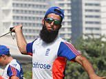 Cricket - England Nets - ICC Academy, Dubai, United Arab Emirates - 20/10/15  England's Moeen Ali during nets  Action Images via Reuters / Jason O'Brien  Livepic