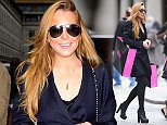 23 Oct 2015  - LONDON  - UK\n*** EXCLUSIVE ALL ROUND PICTURES ***\nAMERICAN ACTRESS LINDSAY LOHAN IS SPOTTED OUT AND ABOUT LOOKING FASHIONABLE AND HAPPY WHILE HITTING THE LONDON SHOPS.\nBYLINE MUST READ : XPOSUREPHOTOS.COM\n***UK CLIENTS - PICTURES CONTAINING CHILDREN PLEASE PIXELATE FACE PRIOR TO PUBLICATION ***\n**UK CLIENTS MUST CALL PRIOR TO TV OR ONLINE USAGE PLEASE TELEPHONE  442083442007