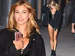 EXCLUSIVE: Hailey Baldwin is seen photo shoot for Express in a black  bikini on the West side highway  in New York.\n\nPictured: Hailey Baldwin\nRef: SPL1158468  221015   EXCLUSIVE\nPicture by: @JDH Imagez / Splash News\n\nSplash News and Pictures\nLos Angeles: 310-821-2666\nNew York: 212-619-2666\nLondon: 870-934-2666\nphotodesk@splashnews.com\n