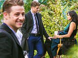 EXCLUSIVE: Benjamin McKenzie and pregnant Morena Baccarin are spotted together on set of 'Gotham' at Brooklyn Botanic Garden for the first time since the news about Morena's pregnancy and her relationship with Ben broke earlier this month.\n\nPictured: Ben McKenzie, Morena Baccarin\nRef: SPL1157882  231015   EXCLUSIVE\nPicture by: Allan Bregg / SPLASH NEWS\n\nSplash News and Pictures\nLos Angeles: 310-821-2666\nNew York: 212-619-2666\nLondon: 870-934-2666\nphotodesk@splashnews.com\n