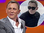 Daniel Craig at The London Studios during filming of the Graham Norton Show, which will be transmitted on BBC1 tomorrow evening. PRESS ASSOCIATION Photo. Picture date: Thursday October 22, 2015. Photo credit should read: Matt Crossick/PA Images on behalf of SO TV