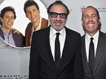 BEVERLY HILLS, CA - OCTOBER 22:  Actors Michael Richards and Jerry Seinfeld attend the American Friends Of Magen David Adom's Red Star Ball at The Beverly Hilton Hotel on October 22, 2015 in Beverly Hills, California.  (Photo by Alberto E. Rodriguez/Getty Images for MDA)