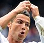 MADRID, SPAIN - OCTOBER 17:  Cristiano Ronaldo of Real Madrid celebrates after scoring Real's 2nd goal during the La Liga match between Real Madrid CF and Levante UD at estadio Santiago Bernabeu on October 17, 2015 in Madrid, Spain.  (Photo by Denis Doyle/Getty Images)