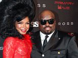 WEST HOLLYWOOD, CA - FEBRUARY 07:  Singer/songwriter Cee Lo Green (R) and Shani James attending Primary Wave 9th Annual Pre-Grammy Prty at RivaBella on February 7, 2015 in West Hollywood, California.  (Photo by Paul Redmond/WireImage)