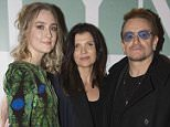 Bono & wife Ali Hewson join guests at the Irish Premiere of Brooklyn at The Savoy, Dublin, Ireland - 22.10.15. Featuring: Saoirse Ronan, Ali Hewson, Bono Where: Dublin, Ireland When: 22 Oct 2015 Credit: WENN.com **Not available for publication in Ireland**