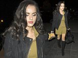 Picture Shows: Georgia May Foote  October 23, 2015: October 23, 2015\n \n The stars of ballroom dance competition, 'Strictly Come Dancing' are seen returning to their hotel in London.\n \n Non-Exclusive\n WORLDWIDE RIGHTS\n \n Pictures by : FameFlynet UK © 2015\n Tel : +44 (0)20 3551 5049\n Email : info@fameflynet.uk.com