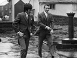 George Best of Manchester United was best man for the wedding of Manchester City footballer Mike Summerbee to 20 year old Tina Schofield at St. Michael's and All Angels Church, Mottram. \nSeptember 1968 \nP005144