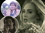 """EROTEME.CO.UK\nFOR UK SALES: Contact Caroline 44 207 431 1598\nPicture shows:  Adele's new single """"Hello""""\nNON-EXCLUSIVE:  Friday 23rd October 2015\nJob: 151023UT3  London, UK\nEROTEME.CO.UK 44 207 431 1598\nDisclaimer note of Eroteme Ltd: Eroteme Ltd does not claim copyright for this image. This image is merely a supply image and payment will be on supply/usage fee only."""