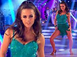****Ruckas Videograbs****  (01322) 861777\n*IMPORTANT* Please credit BBC for this picture.\n24/10/15\nStrictly Come Dancing \nGrabs from tonights show\nOffice  (UK)  : 01322 861777\nMobile (UK)  : 07742 164 106\n**IMPORTANT - PLEASE READ** The video grabs supplied by Ruckas Pictures always remain the copyright of the programme makers, we provide a service to purely capture and supply the images to the client, securing the copyright of the images will always remain the responsibility of the publisher at all times.\nStandard terms, conditions & minimum fees apply to our videograbs unless varied by agreement prior to publication.