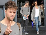 24 Oct 2015 - LONDON - UK  THE STRICTLY COME DANCING CAST HEAD OUT OF THEIR HOTEL AS THEY LEAVE FOR THEIR LIVE SHOW. GEORGIA WAS HIDING HER FACE WHILE JAY ENJOYED THE JEWISH NEWS.  BYLINE MUST READ : XPOSUREPHOTOS.COM  ***UK CLIENTS - PICTURES CONTAINING CHILDREN PLEASE PIXELATE FACE PRIOR TO PUBLICATION ***  **UK CLIENTS MUST CALL PRIOR TO TV OR ONLINE USAGE PLEASE TELEPHONE   44 208 344 2007 **
