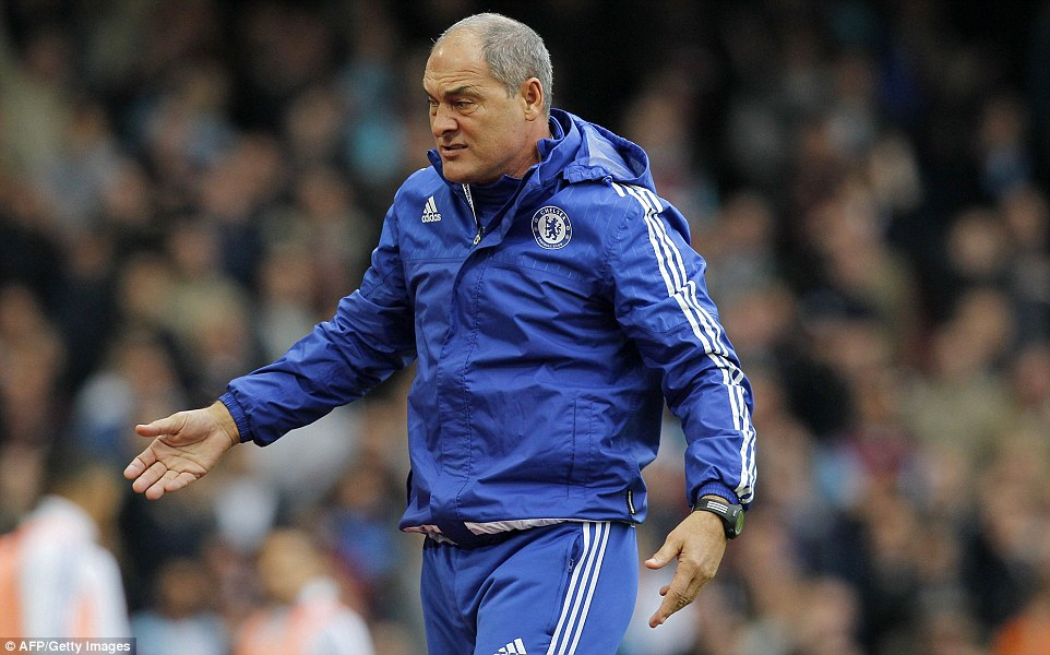 Chelsea coach Louro reacted angrily to Matic's sending off at West Ham and was subsequently sent to the stands