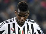 Juventus' Paul Lamine Pogba reacts during their Champions League Group D soccer match against Borussia Monchengladbach at Juventus Stadium in Turin October 21, 2015. REUTERS/Giorgio Perottino