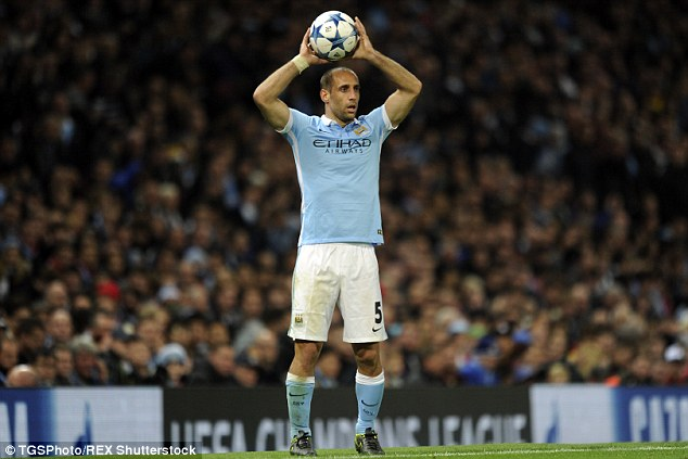 Man City defender Pablo Zabaleta says the club have had no option but to spend, spend, spend