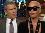 Bravo chat host Andy Cohen was joined by model/author Amber Rose and author/ TV show host Iyanla Vanzant.
