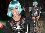 LOS ANGELES, CA - OCTOBER 24:  TV Personality Kendra Wilkinson attends the annual Halloween Party, hosted by Playboy and Hugh Hefner, at the Playboy Mansion on October 24, 2015 in Los Angeles, California.  (Photo by Joe Scarnici/Getty Images  for Playboy)