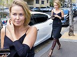 15 SEPTEMBER 2015 SYDNEY \nAUSTRALIA\nEXCLUSIVE PICTURES\nLara Worthington pictured out and about going to meetings in Sydney. \n*No web without clearance*\nMUST CALL PRIOR TO USE \n+61 2 9211-1088. \nNote: All editorial images subject to the following: For editorial use only. Additional clearance required for commercial, wireless, internet or promotional use.Images may not be altered or modified. Matrix Media Group makes no representations or warranties regarding names, trademarks or logos appearing in the images.