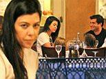 Kourtney Kardashian has dinner with mystery man in Calabassas.\n\nPictured: Kourtney Kardashian \nRef: SPL1160182  251015  \nPicture by: Jacson / Splash News\n\nSplash News and Pictures\nLos Angeles: 310-821-2666\nNew York: 212-619-2666\nLondon: 870-934-2666\nphotodesk@splashnews.com\n