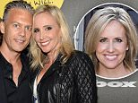 HOLLYWOOD, CA - JUNE 10:  David Beador (L) and tv personality Shannon Beador attend Shoebox's 29th Birthday Celebration hosted by Rob Riggle at The Improv on June 10, 2015 in Hollywood, California.  (Photo by Michael Kovac/Getty Images for Hallmark Shoebox)