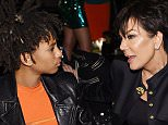 LOS ANGELES, CA - OCTOBER 23:  Willow Smith and Kris Jenner attend Olivier Rousteing & Beats Celebrate In Los Angeles at Private Residence on October 23, 2015 in Los Angeles, California.  (Photo by Stefanie Keenan/Getty Images for Apple)