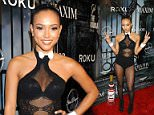 BEVERLY HILLS, CA - OCTOBER 24:  Karrueche Tran arrives at the 2015 MAXIM Magazine's official Halloween Party held on October 24, 2015 in Beverly Hills, California.  (Photo by Michael Tran/FilmMagic)