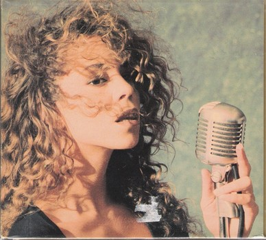 "Mariah Carey pictured in 1990 for her debut single ""Vision of love"""