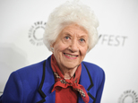 """FILE - In this Sept. 15, 2014, file photo, Charlotte Rae arrives at the 2014 PALEYFEST Fall TV Previews - """"The Facts Of Life"""" Reunion in Beverly Hills, Calif. Rae recounts in her new autobiography, her own life bore little resemblance to the sitcom-grade serenity of her """"Facts of Life"""" character, Edna Garrett, instead marked by challenges that included son Andy¿s autism and her husband's late-in-life disclosure that he was bisexual and wanted an open marriage. (Photo by Richard Shotwell/Invision/AP, FILE)"""