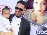 LAS VEGAS, NV - MAY 17:  Singer Chris Brown and daughter Royalty arrive at the 2015 Billboard Music Awards at MGM Garden Arena on May 17, 2015 in Las Vegas, Nevada.  (Photo by Gregg DeGuire/WireImage)