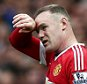 Wayne Rooney of Manchester United looks dejected during the Barclays Premier League match between Manchester United and Manchester City played at Old Trafford Stadium, Manchester on October 25th 2015