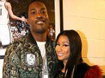 NEW YORK, NY - OCTOBER 22:  Rappers Meek Mill and Nicki Minaj attend Power 105.1Âs Powerhouse 2015 at the Barclays Center on October 22, 2015 in Brooklyn, NY.  (Photo by Johnny Nunez/Getty Images for Power 105.1's Powerhouse 2015)