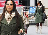 144114, A stylish Padma Lakshmi and daughter Krishna are pictured out and about in Manhattan's Soho neighborhood. Padma's daughter can be seen wearing eyeliner make-up. New York, New York - Saturday October 24, 2015. Photograph: LGjr-RG, © PacificCoastNews. Los Angeles Office: +1 310.822.0419 sales@pacificcoastnews.com FEE MUST BE AGREED PRIOR TO USAGE