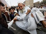 epa04997040 People carry a man who was injured in a 7.7 magnitude earthquake,  to a hospital in Peshawar, Pakistan, 26 October 2015.  A strong earthquake with a magnitude of 7.7 hit northern Afghanistan's Hindu Kush mountain range causing damage in Pakistan and India as well. At least 69 people were killed in Pakistan, 20 in Afghanistan and hundreds wounded.  Tremors were felt in northern India including the capital New Delhi, causing thousands of people to evacuate buildings. Authorities also closed the underground train system.  EPA/ARSHAD ARBAB  EPA/ARSHAD ARBAB