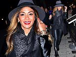 NEW YORK, NY - OCTOBER 25:  (Exclusive Coverage)  Nicole Scherzinger arrives to K Rico on October 25, 2015 in New York City.  (Photo by James Devaney/GC Images)