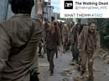 The Walking Dead- October 25, 2015 \n\nOctober 25, 2015 ¿ ¿The Walking Dead¿  On tonight¿s episode titled ¿Thank You¿ a small group, including Rick, runs into hurdles while trying to return to Alexandria and some may not make it back.  It seemed that more zombies and cast members were killed in this episode than any other. With Andrew Lincoln, Chandler Riggs, Melissa McBride, Lauren Cohan, Danai Gurira, Steven Yeun and Norman Reedus.