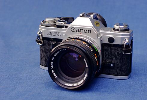 Canon AT-1 camera