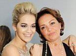 LONDON, ENGLAND - JUNE 04:  (EMBARGOED FOR PUBLICATION IN UK TABLOID NEWSPAPERS UNTIL 48 HOURS AFTER CREATE DATE AND TIME. MANDATORY CREDIT PHOTO BY DAVE M. BENETT/GETTY IMAGES REQUIRED)  Rita Ora (L) and mother Vera arrive at the Glamour Women of the Year Awards in association with Pandora at Berkeley Square Gardens on June 4, 2013 in London, England.  (Photo by Dave M. Benett/Getty Images for Pandora)