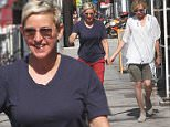 Ellen DeGeneres and Portia de Rossi has lunch with friends at Read Food Daily in Hollywood, CA.\n\nPictured: Ellen DeGeneres and Portia de Rossi\nRef: SPL1160347  241015  \nPicture by: Be Like Water Production\n\nSplash News and Pictures\nLos Angeles: 310-821-2666\nNew York: 212-619-2666\nLondon: 870-934-2666\nphotodesk@splashnews.com\n