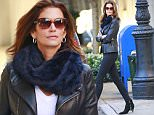 """10/25/2015\nExclusive: Perennial Supermodel Cindy Crawford looks stylish in the fall. The model stepped out uptown wearing leather and layering up while getting coffee and taking a central park stroll in New York City. Ms. Crawford is in the Big Apple promoting her new book """"Becoming"""" a narration of her model-shoots and life lessons.\nPlease byline:TheImageDirect.com\n*EXCLUSIVE PLEASE EMAIL sales@theimagedirect.com FOR FEES BEFORE USE"""