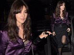 Monica Bellucci greets her fans and signs autographs outside a London hotel, UK.  Pictured: Monica Bellucci Ref: SPL1158003  251015   Picture by: Tony Clark / Splash News  Splash News and Pictures Los Angeles: 310-821-2666 New York: 212-619-2666 London: 870-934-2666 photodesk@splashnews.com