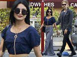 Picture Shows: Vanessa Hudgens, Austin Butler  October 24, 2015\n \n Couple, Vanessa Hudgens and Austin Butler spotted out for lunch at Bellwood Bakery in Studio City, California. The pair recently returned from a trip to New York City.\n \n Non-Exclusive\n UK RIGHTS ONLY\n \n Pictures by : FameFlynet UK © 2015\n Tel : +44 (0)20 3551 5049\n Email : info@fameflynet.uk.com