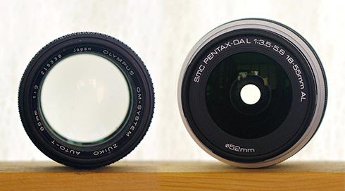 Lens Entrance Pupils