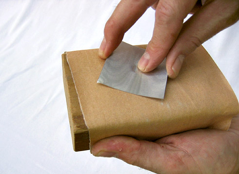 Thinning the Bump with Sandpaper