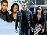 Mandatory Credit: Photo by Buzz Foto/REX Shutterstock (5304317a)\n Wilmer Valderrama, Demi Lovato\n Demi Lovato out and about, New York, America - 26 Oct 2015\n \n