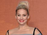 """LONDON, ENGLAND - SEPTEMBER 24:  Kimberly Wyatt attends the European premiere of """"The Martian"""" at Odeon Leicester Square on September 24, 2015 in London, England.  (Photo by Karwai Tang/WireImage)"""