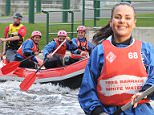 26 Oct 2015  - STOCKTON-ON-TEES  - UK *** EXCLUSIVE ALL ROUND PICTURES *** GAZ BEADLE AND SCOTTY T, CHANTELLE CONNELLY AND AARON CHALMERS GEORDIE SHORE STARS ENJOYED A DAY AT A WATER SPORTS CENTRE IN STOCKTON. THE GEORDIE LOT ARE CURRENTLY FILMING SERIES 12 AND CHOSE TO FILM AT THE TEES BARAGE ON TEESSIDE AS THEY ENJOYED AN AFTERNOON OF WATERSPORTS. BYLINE MUST READ : XPOSUREPHOTOS.COM ***UK CLIENTS - PICTURES CONTAINING CHILDREN PLEASE PIXELATE FACE PRIOR TO PUBLICATION *** **UK CLIENTS MUST CALL PRIOR TO TV OR ONLINE USAGE PLEASE TELEPHONE  442083442007