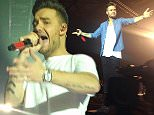 25 Oct 2015  - NEWCASTLE  - UK *** EXCLUSIVE ALL ROUND PICTURES *** LIAM PAYNE TAKES TO THE STAGE FOR THE FIRST TIME SINCE ANNOUNCING HE HAS SPLIT FROM HIS GIRLFRIEND SOPHIA SMITH AS THE ONE DIRECTION BOYS TOOK TO THE STAGE AT THE METRO RADIO ARENA IN NEWCASTLE. BYLINE MUST READ : XPOSUREPHOTOS.COM ***UK CLIENTS - PICTURES CONTAINING CHILDREN PLEASE PIXELATE FACE PRIOR TO PUBLICATION *** **UK CLIENTS MUST CALL PRIOR TO TV OR ONLINE USAGE PLEASE TELEPHONE  442083442007